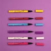 Branco, Amarelo, Azul, Rosa, Vermelho ou Roxo? Qual vai ser a nova cor do seu delineado?