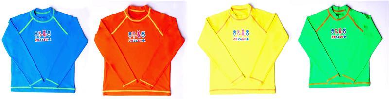 Nesse inverno as camisetas Zuzaboo® garantem às crianças proteção dos raios  UVA e UVB 322febab9c
