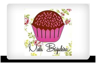 Lilica Mattos - Assessoria de Imprensa | Logotipo Malu Brigadeiro